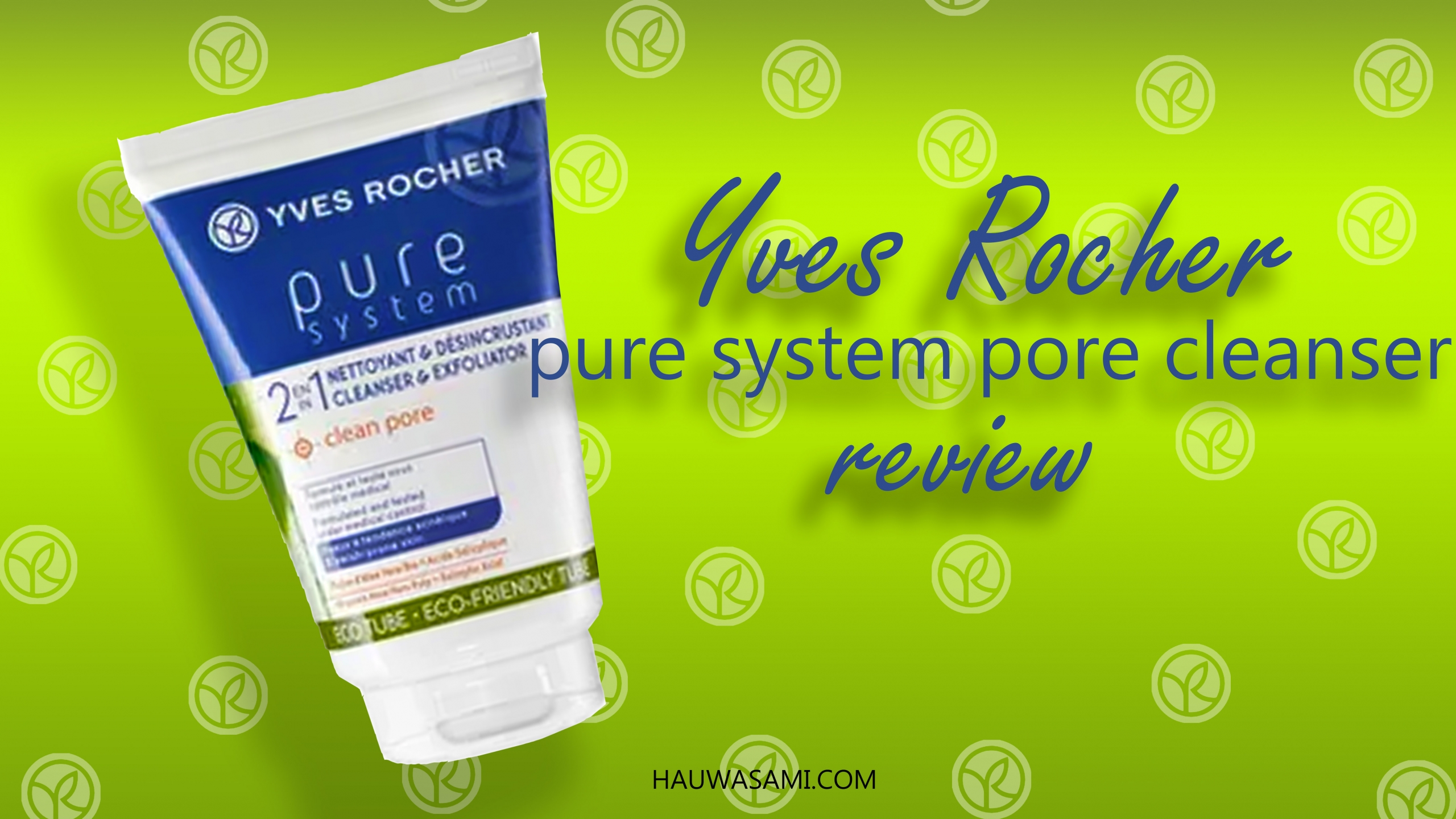 pure system yves rocher face scrub review