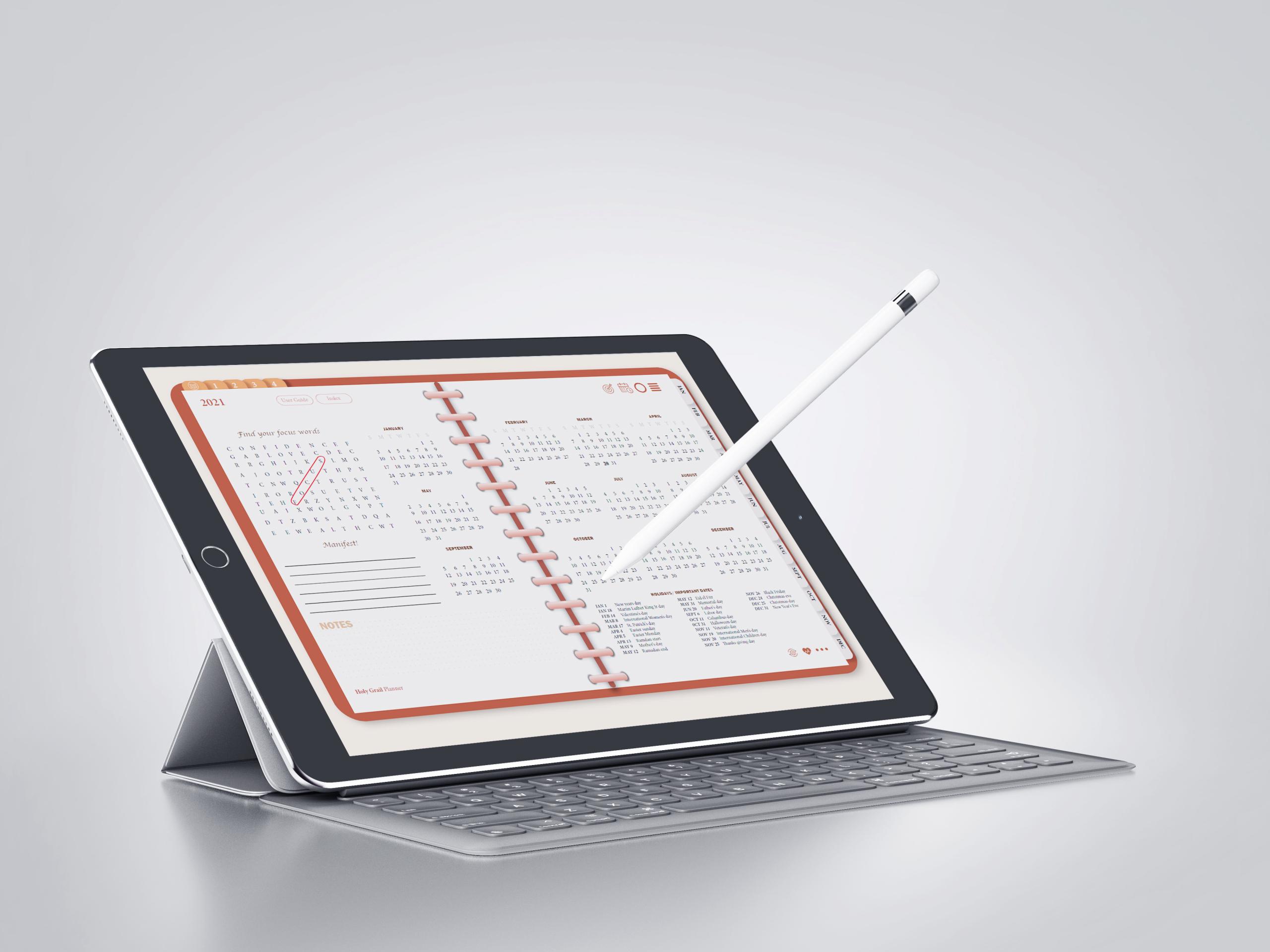 digital planner 2021
