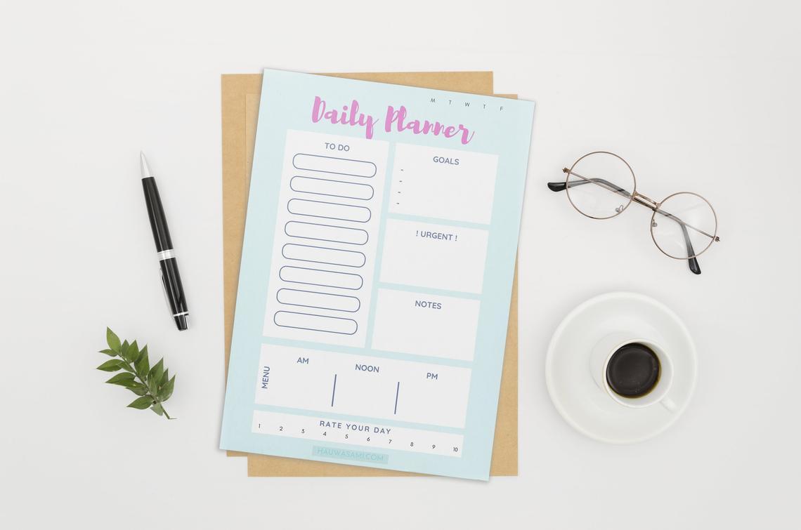 daily printable planner pdf