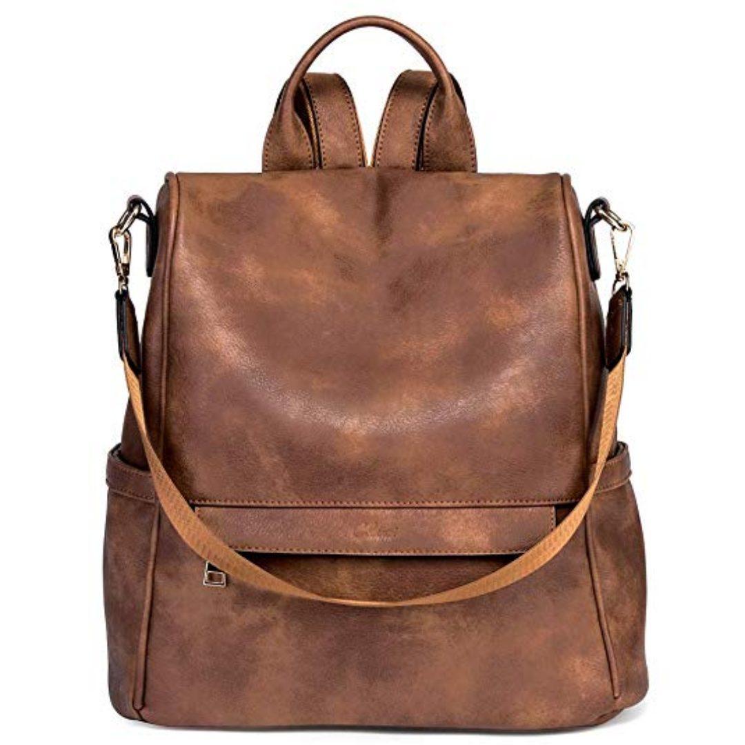 CLUCI Mother Day Gifts Women Backpack Purse Fashion Leather Large Designer Travel Bag Ladies Shoulder Bags