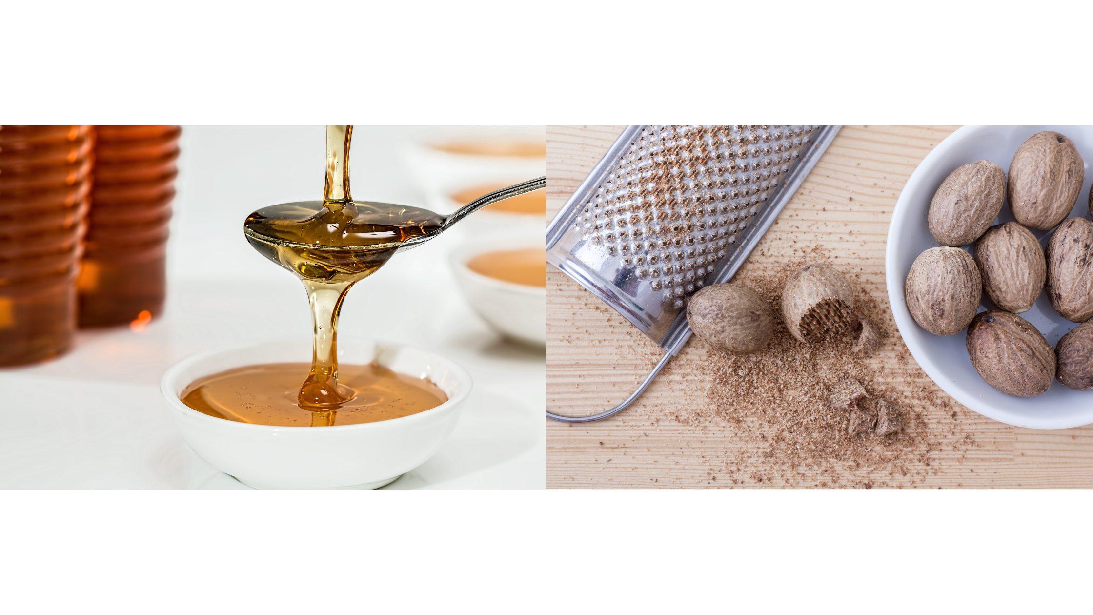 Honey face mask for acne