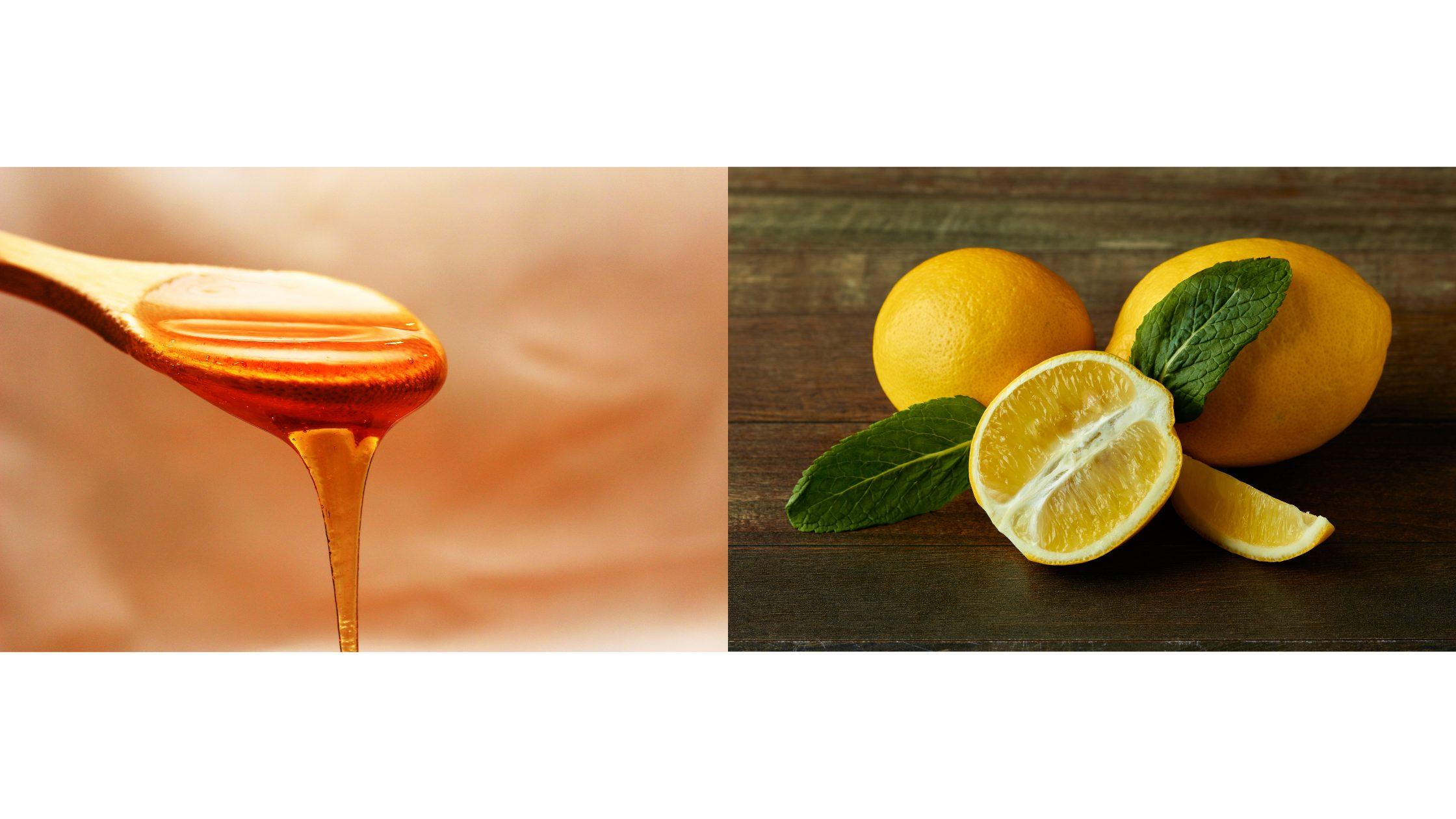 DIY honey face mask for acne scar